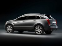 2012 Cadillac SRX, Left side view, manufacturer, exterior