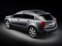 2012 Cadillac SRX, Back Left View, manufacturer, exterior