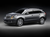 2012 Cadillac SRX, Left Side View, exterior, manufacturer