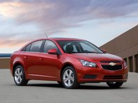 2012 Chevrolet Cruze, Front Right Quarter View, exterior, manufacturer