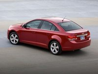 2012 Chevrolet Cruze, Back Left Quarter View, manufacturer, exterior