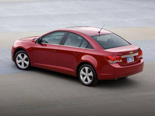 2012 Chevrolet Cruze, Back Left Quarter View, exterior, manufacturer