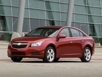 2012 Chevrolet Cruze, Front Left Quarter View, manufacturer, exterior