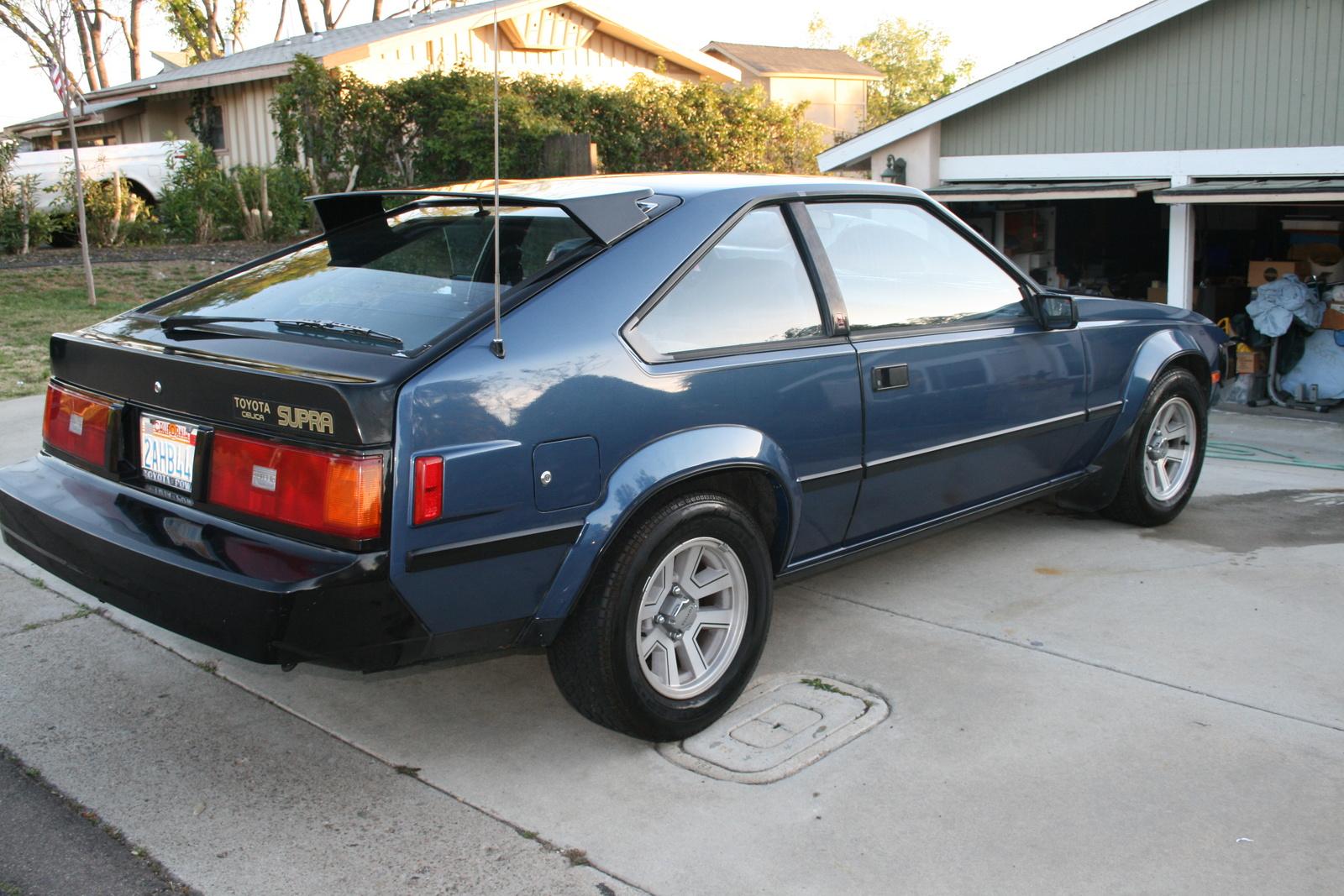 1983 Toyota Supra Pictures Cargurus