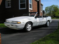 1993 Pontiac Sunbird 2 Dr SE Convertible, Bought on eBay for $1700., exterior