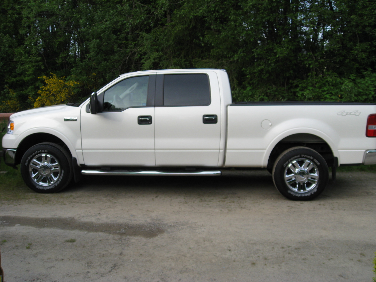 picture of 2008 ford f 150 lariat supercrew 4wd exterior. Black Bedroom Furniture Sets. Home Design Ideas