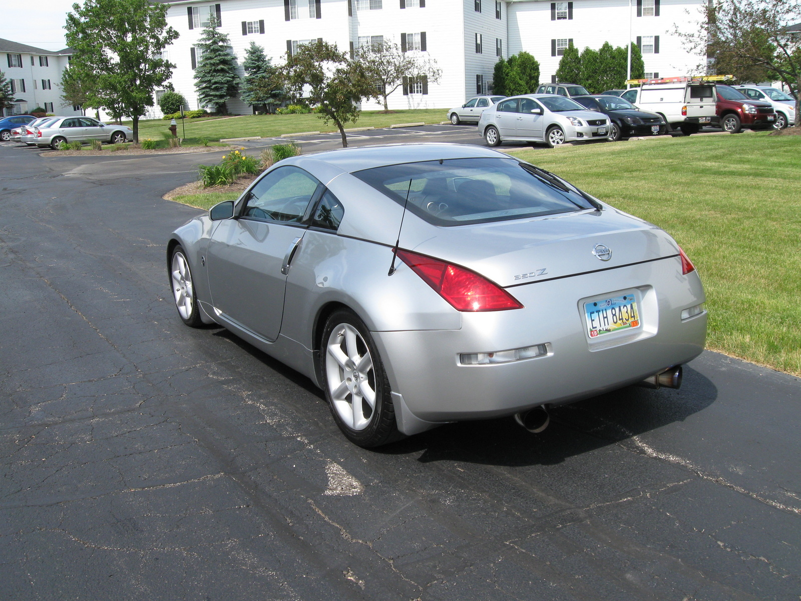 2003 nissan 350z exterior pictures cargurus. Black Bedroom Furniture Sets. Home Design Ideas