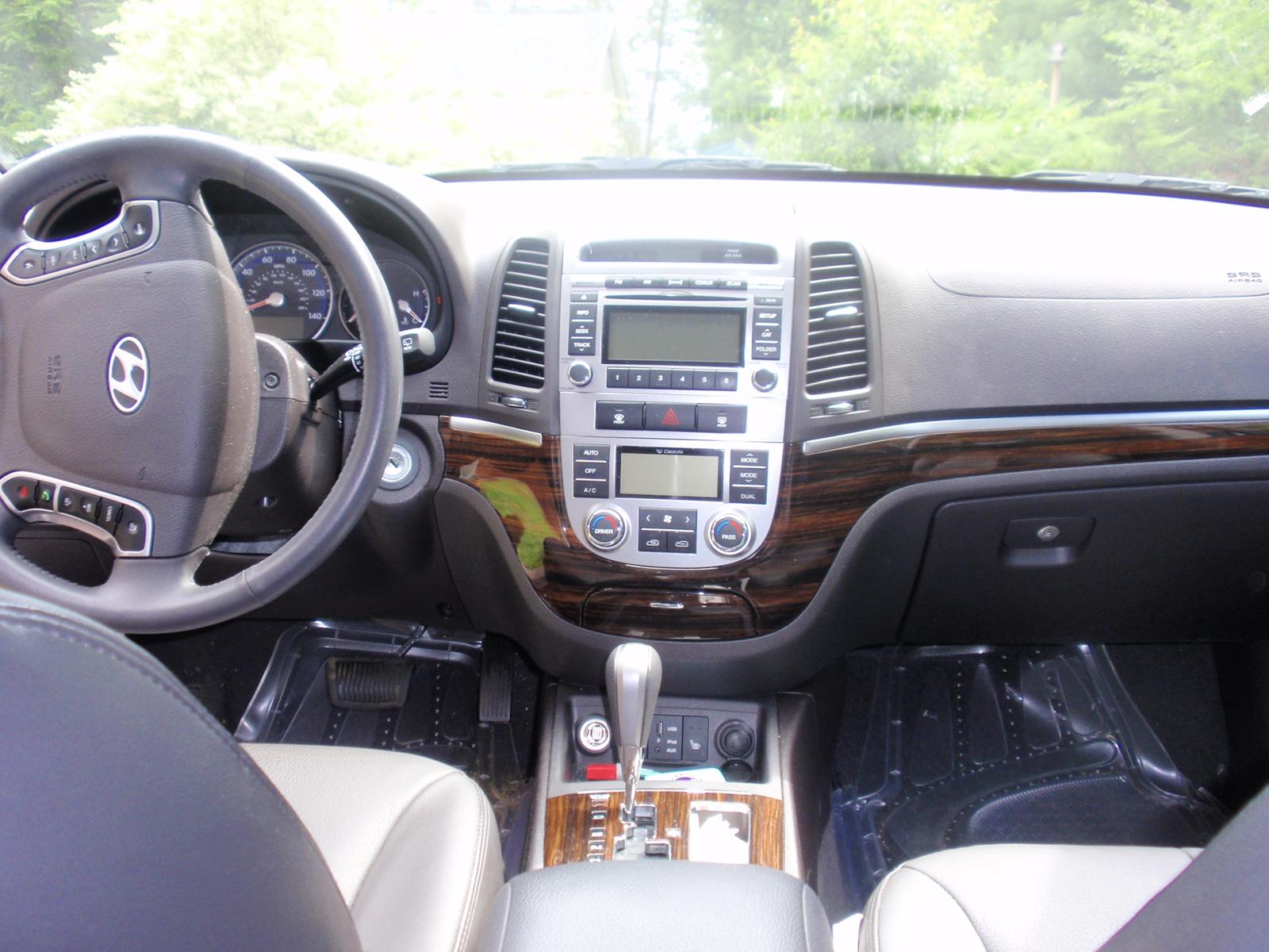 2010 Hyundai Santa Fe Interior Pictures Cargurus