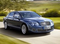 2012 Bentley Continental Flying Spur, Front quarter view copyright yahoo autos. , exterior, manufacturer