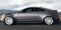 2012 Cadillac CTS-V Coupe, Side View copyright Yahoo Autos. , manufacturer, exterior