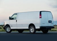 2012 Chevrolet Express Cargo, Back quarter view copyright AOL Autos. , manufacturer, exterior