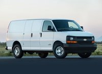 2012 Chevrolet Express Cargo, Front quarter view copyright AOL Autos. , exterior, manufacturer