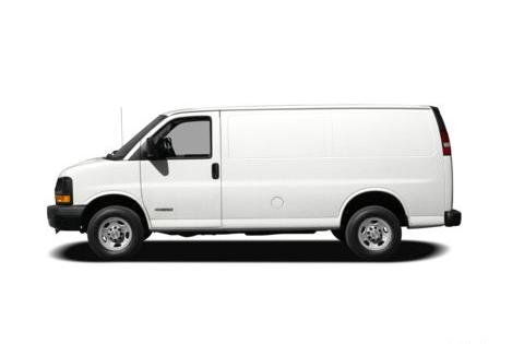 2012 Chevrolet Express Cargo, Side View copyright AOL Autos. , exterior, manufacturer