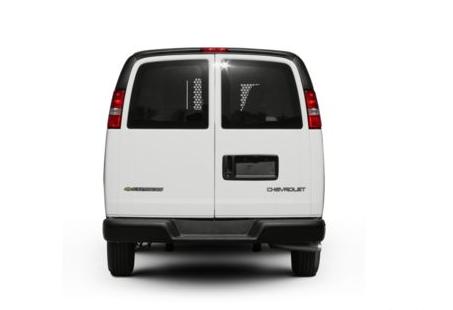 2012 Chevrolet Express Cargo, Back View copyright AOL Autos. , exterior, manufacturer