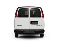 2012 Chevrolet Express Cargo, Back View copyright AOL Autos. , exterior, manufacturer