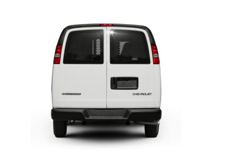 2012 Chevrolet Express Cargo, Back View copyright AOL Autos. , manufacturer, exterior