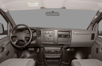 2012 Chevrolet Express Cargo, Front View copyright AOL Autos. , interior, manufacturer