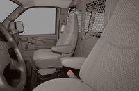2012 Chevrolet Express Cargo, Front Seat View copyright AOL Autos. , interior, manufacturer