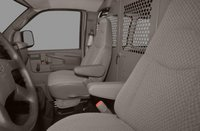2012 Chevrolet Express Cargo, Front Seat View copyright AOL Autos. , manufacturer, interior