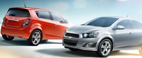 2012 Chevrolet Sonic, Front and back quarter view. , exterior, manufacturer