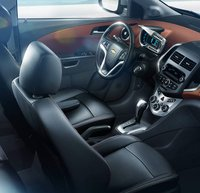 2012 Chevrolet Sonic, Close-up of drivers seat. , interior, manufacturer