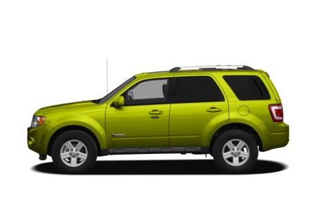2012 Ford Escape Hybrid, Side View Copyright AOL Autos. , manufacturer, exterior