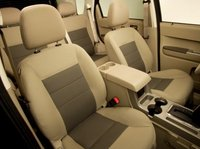 2012 Ford Escape Hybrid, Front Seats copyright AOL Autos. , manufacturer, interior
