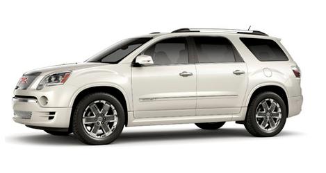 2012 GMC Acadia, Front quarter view copyright Yahoo Autos. , exterior, manufacturer