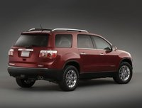 2012 GMC Acadia, Back quarter view copyright AOL Autos. , exterior, manufacturer