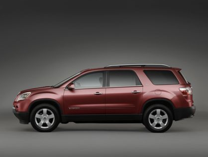 2012 GMC Acadia, Side View copyright AOL Autos. , manufacturer, exterior