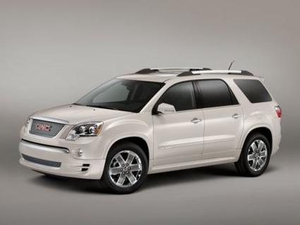 2012 GMC Acadia, Front quarter view copyright AOL Autos. , exterior, manufacturer