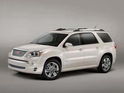 2012 GMC Acadia, Front quarter view copyright AOL Autos. , manufacturer, exterior