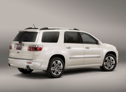 2012 GMC Acadia, Back quarter view copyright AOL Autos. , manufacturer, exterior