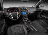 2012 GMC Acadia, Front seat view copyright AOL Autos. , interior, manufacturer