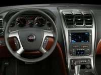 2012 GMC Acadia, Close-up of steering wheel copyright AOL Autos., interior, manufacturer
