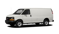 2012 GMC Savana, Front quarter view copyright AOL Autos. , exterior, manufacturer