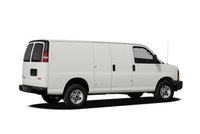 2012 GMC Savana, Back quarter view copyright AOL Autos. , exterior, manufacturer