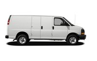 2012 GMC Savana, Side View copyright AOL Autos. , exterior, manufacturer