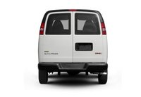 2012 GMC Savana, Back View copyright AOL Autos. , exterior, manufacturer