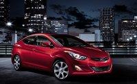 2012 Hyundai Elantra, Front quarter view. , exterior, manufacturer