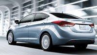 2012 Hyundai Elantra, Back quarter view. , exterior, manufacturer