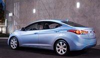 2012 Hyundai Elantra, Back quarter view., exterior, manufacturer