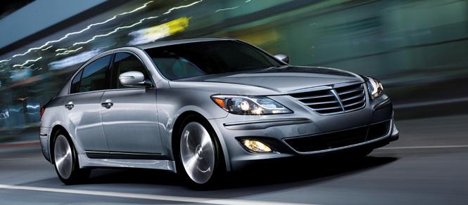 2012 Hyundai Genesis, Front quarter view., exterior, manufacturer