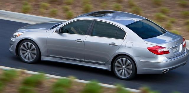 2012 Hyundai Genesis, Side View., exterior, manufacturer