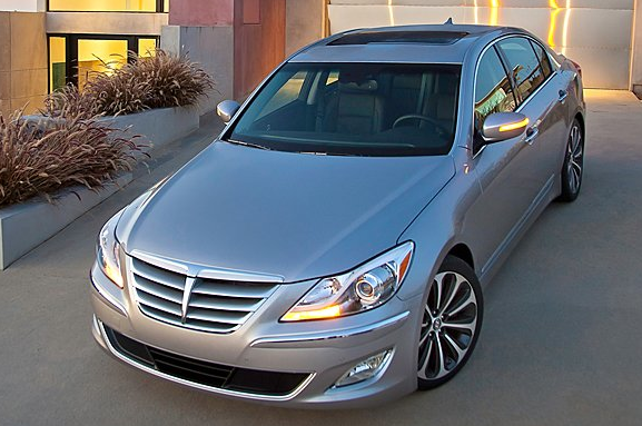 2012 Hyundai Genesis, Front quarter view. , exterior, manufacturer