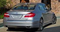 2012 Hyundai Genesis, Back quarter view. , exterior, manufacturer