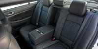 2012 Hyundai Genesis, Close-up of back seat. , interior, manufacturer