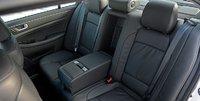 2012 Hyundai Genesis, Close-up of back seat. , interior, manufacturer