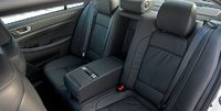 2012 Hyundai Genesis, Close-up of back seat. , manufacturer, interior