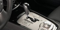 2012 Hyundai Genesis, Close-up of shift stick., interior, manufacturer